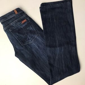7 for all Mankind Flynt Blue Jeans 27